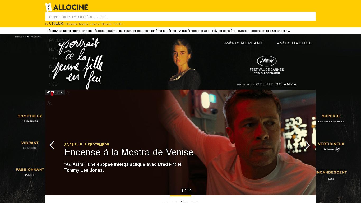 AlloCiné : Cinéma
