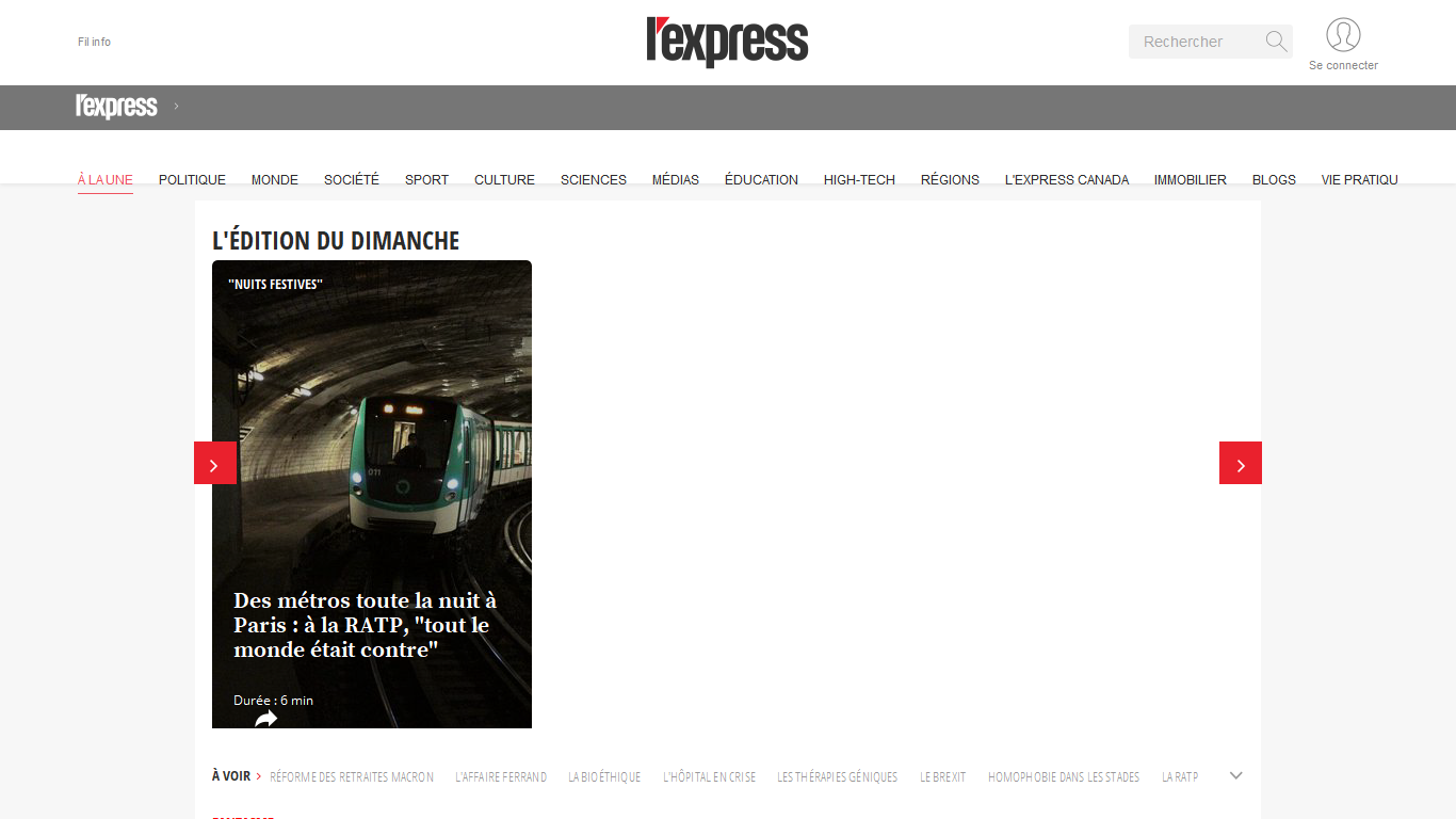 L'Express - Actualités Politique
