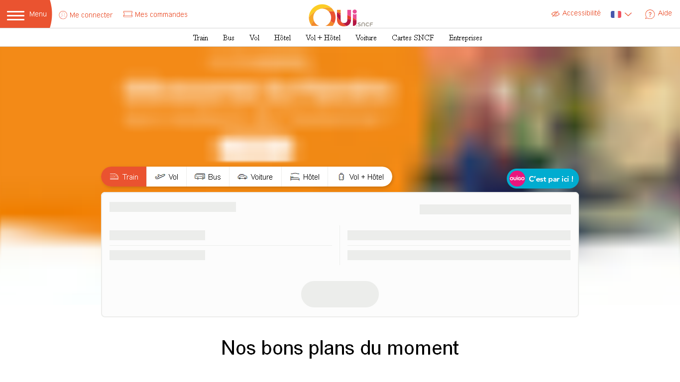 OUI.sncf : Réservez vos billets SNCF (Voyages-sncf.com) Avis