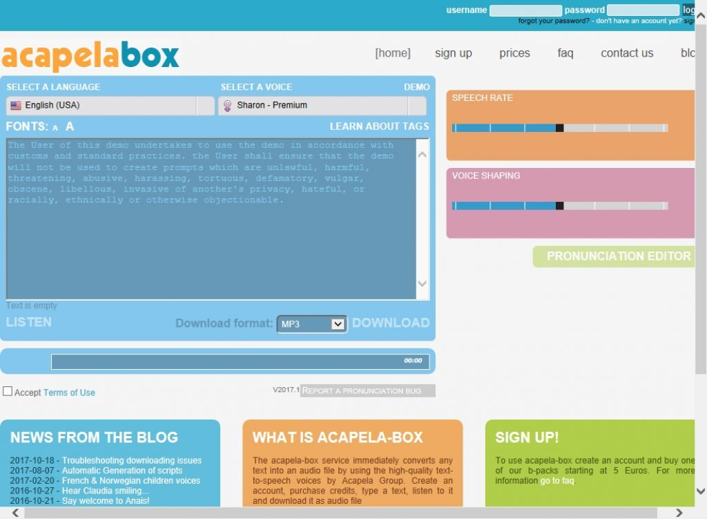 acapela-box.com - Avis des utilisateurs