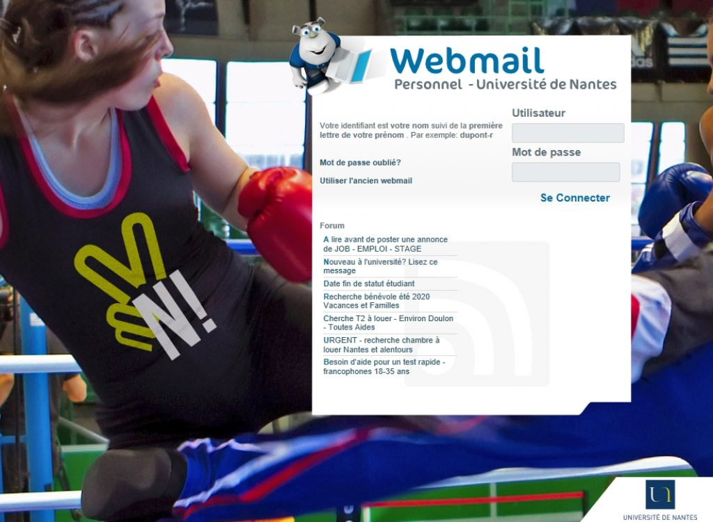webmail.univ-nantes.fr - Avis des utilisateurs